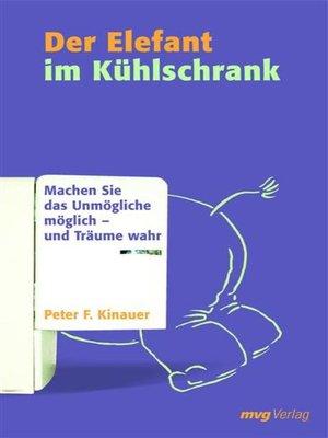 cover image of Der Elefant im Kühlschrank