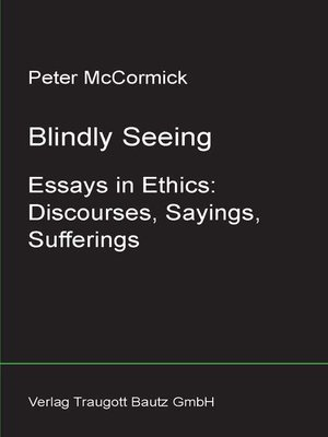 cover image of Blindly Seeing