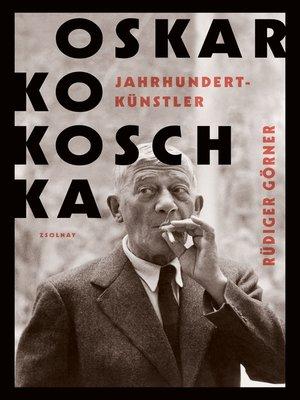 cover image of Oskar Kokoschka