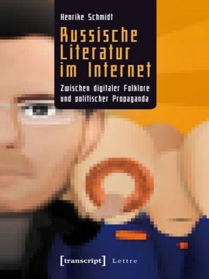 cover image of Russische Literatur im Internet