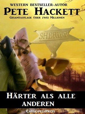 cover image of Härter als alle anderen (Western)