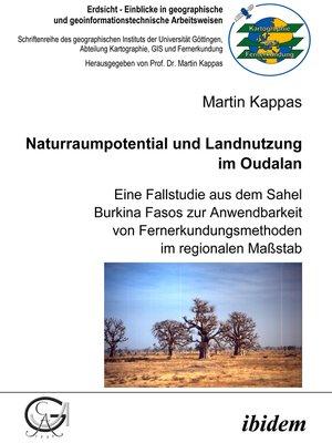 cover image of Naturraumpotential und Landnutzung im Oudalan