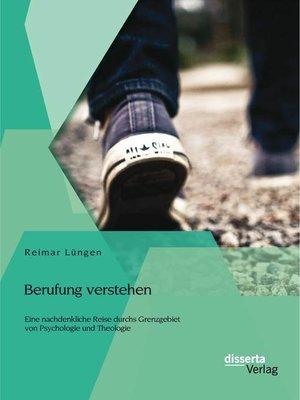 cover image of Berufung verstehen