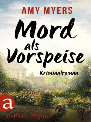 cover image of Mord als Vorspeise