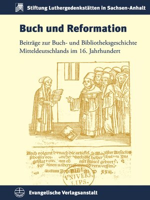 cover image of Buch und Reformation