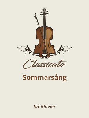 cover image of Sommarsång