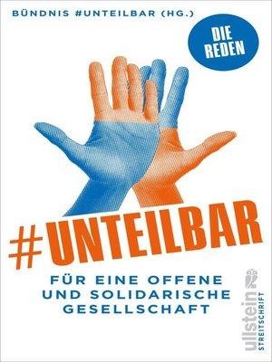 cover image of #unteilbar