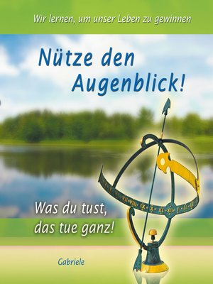 cover image of Nütze den Augenblick