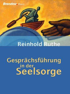 cover image of Gesprächsführung in der Seelsorge