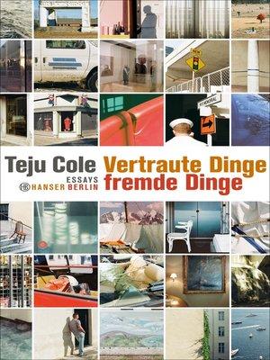 cover image of Vertraute Dinge, fremde Dinge