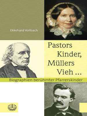 cover image of Pastors Kinder, Müllers Vieh ...