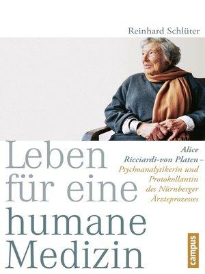 cover image of Leben für eine humane Medizin