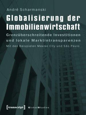 cover image of Globalisierung der Immobilienwirtschaft