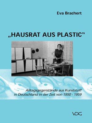 cover image of Hausrat aus Plastic