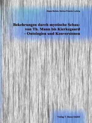 cover image of Bekehrungen durch mystische Schau