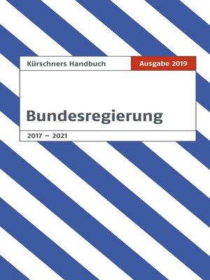 cover image of Kürschners Handbuch Bundesregierung