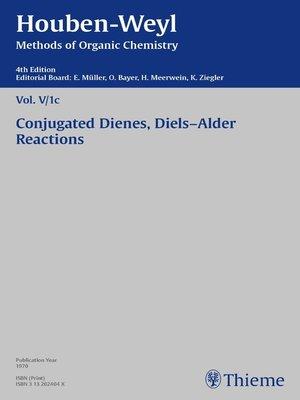 cover image of Houben-Weyl Methods of Organic Chemistry Volume V/1c
