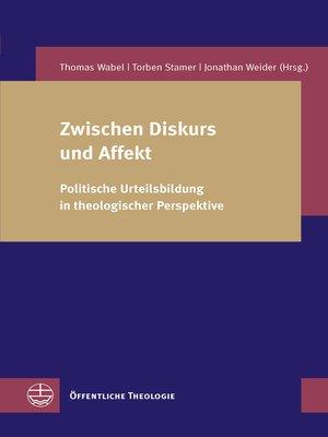 cover image of Zwischen Diskurs und Affekt