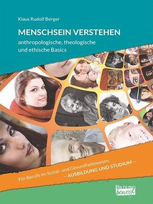 cover image of Menschsein verstehen