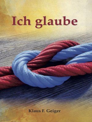 cover image of Ich glaube