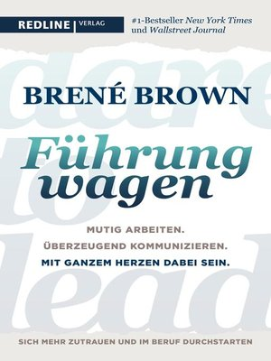 cover image of Dare to lead--Führung wagen