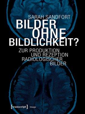 cover image of Bilder ohne Bildlichkeit?