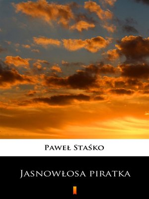 cover image of Jasnowłosa piratka