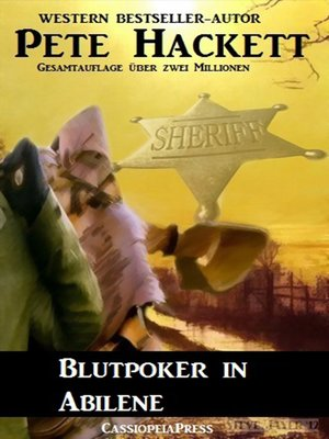 cover image of Blutpoker in Abilene (Western)