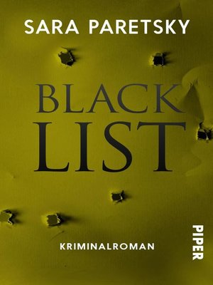 cover image of Blacklist