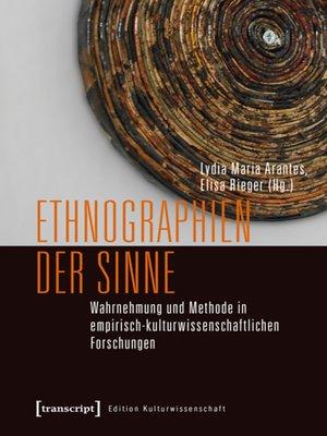 cover image of Ethnographien der Sinne