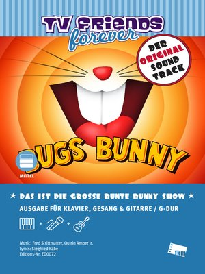 cover image of Das ist die große bunte Bunny Show