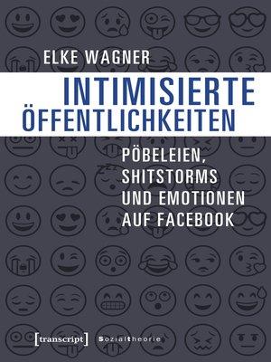 cover image of Intimisierte Öffentlichkeiten