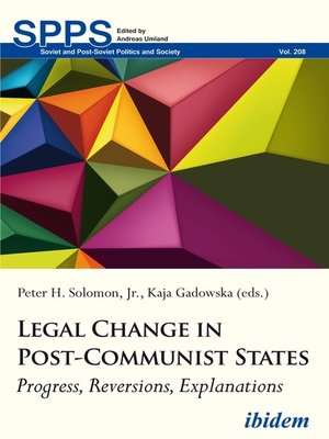 cover image of Legal Change in Post-Communist States