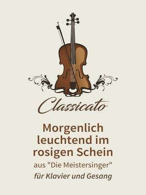 cover image of Morgenlich leuchtend im rosigen Schein