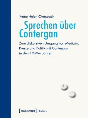 cover image of Sprechen über Contergan
