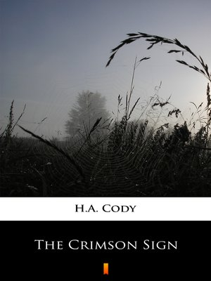 cover image of The Crimson Sign