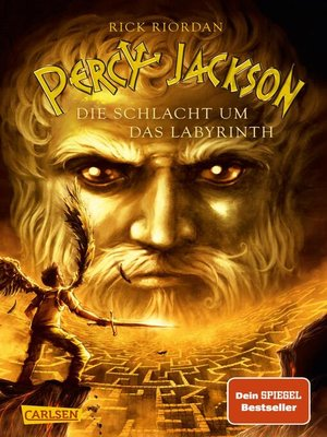 cover image of Serie Percy Jackson, Buch 4