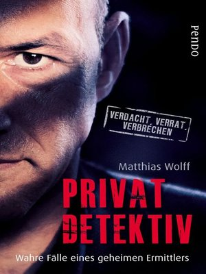 cover image of Privatdetektiv