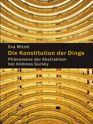 cover image of Die Konstitution der Dinge