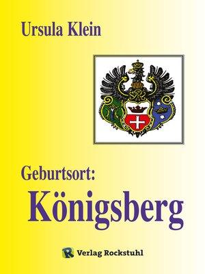 cover image of Geburtsort