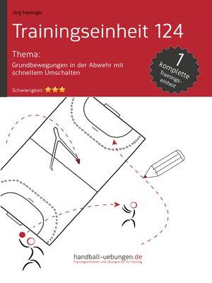 cover image of Grundbewegungen in der Abwehr mit schnellem Umschalten (TE 124)