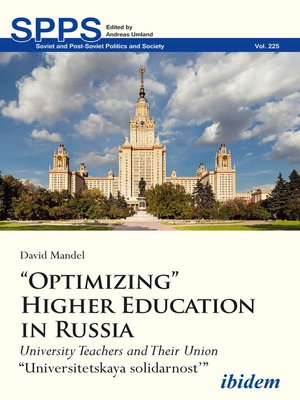 "cover image of ""Optimizing"" Higher Education in Russia"