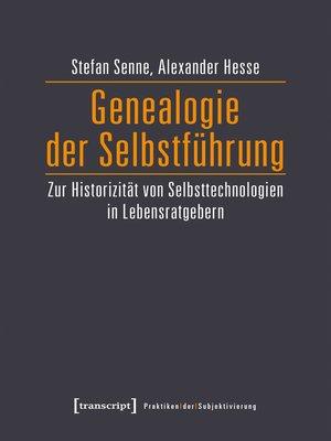 cover image of Genealogie der Selbstführung