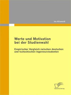 cover image of Werte und Motivation bei der Studienwahl