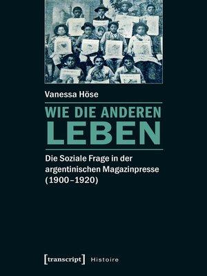 cover image of Wie die Anderen leben