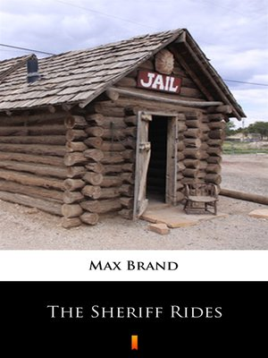 cover image of The Sheriff Rides