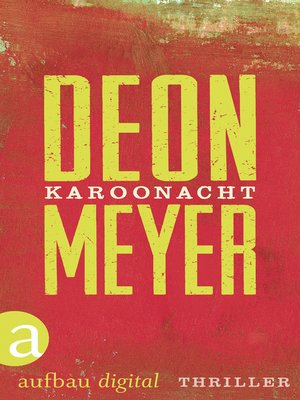 cover image of Karoonacht