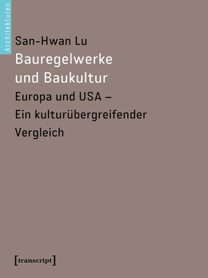 cover image of Bauregelwerke und Baukultur