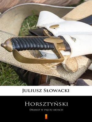 cover image of Horsztyński