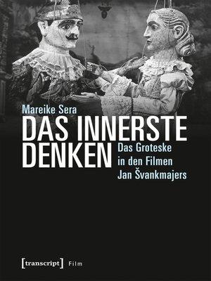 cover image of Das Innerste denken